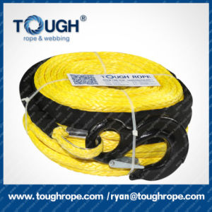 Auto Parts Multicolor Electric Winch Rope 8mm X 35m Synthetic Rope pictures & photos