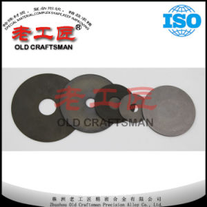 Blank Tungsten Carbide Disc Cutting Blade pictures & photos