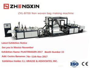 Non Woven D-Cut Bag Making Machine (ZXL-B700) pictures & photos