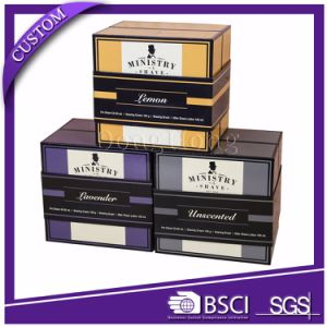 Glossy Rigid Square Cardboard Packaging Printed Cosmetic Boxes pictures & photos