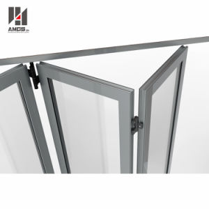 Germany Hardware Aluminum Folding Door with Low E Glass pictures & photos