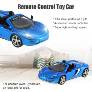 0122228-2.4G 2CH 1/43 Remote Control Mini Racing Car Collection Toys Vehicle for Kids pictures & photos