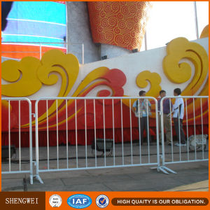 Removable Metal Road Crowd Control Barrier From Shengwei Fence pictures & photos