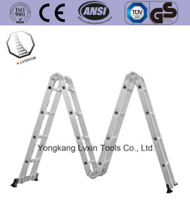Multipurpose Folding Step Hinge Ladder pictures & photos