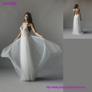 Custom Made Luxurious Lace Wedding Dress 2017 Corset Top Quality Bridal Gown pictures & photos