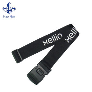 Good Quality Polyester Luggage Belt with Custom Logo pictures & photos