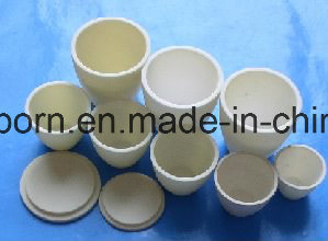 Refractory Porcelain Alumina Crucible for Lab Using pictures & photos