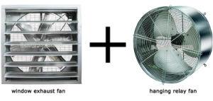 580X430 Axial-Flow Fan/Ventilation Fan Industrial Greenhouse Fan Blower pictures & photos