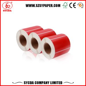 Shenzhen Logo Pre-Printing Thermal Self Adhesive Sticker pictures & photos