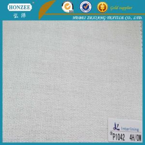 Woven Fusible Cap Interlining Factory Supply pictures & photos