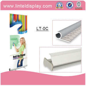 Economical 80*200cm Roll up with Bungee Pole (LT-0C) pictures & photos