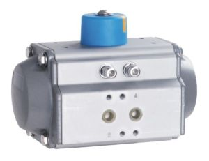 Double Acting Aluminium Body Pneumatic Actuator (AT40-AT300) pictures & photos
