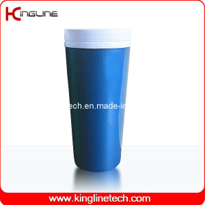 400ml Double Wall Plastic Cup Lid (KL-5010) pictures & photos