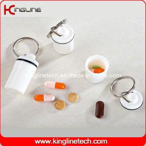 Plastic Mini Pill Box (KL-9053) pictures & photos