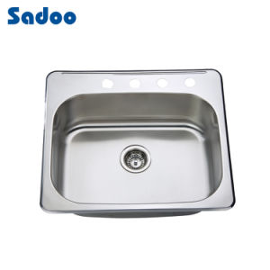 china 8 deep stainless steel laundry kitchen sink with four faucet holes sd 6456 china. Black Bedroom Furniture Sets. Home Design Ideas