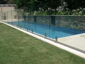 Frameless Tempered Glass Fence for Pools pictures & photos