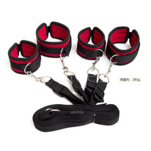 Adult Fantasy Hand&Ankle Cuffs Lingerie Restrain Sex Toy pictures & photos