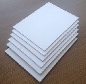 White Color PVC Free Foam Board pictures & photos