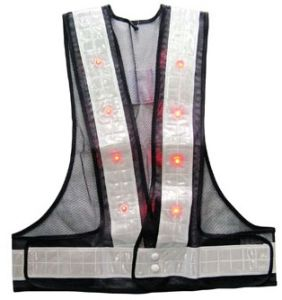 High-Visibility LED Reflective Vest 840 pictures & photos