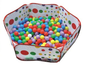 Round Spot Fabric Material Ball Pool for Kids