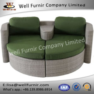 Well Furnir Daybed with Cushions pictures & photos