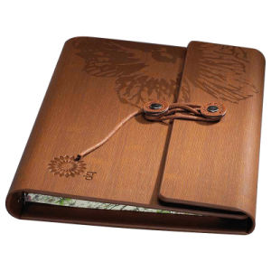 Paper Notebook Printing with PU Cover pictures & photos