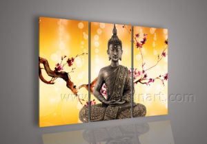 Modern Art Buddha Painting Oil Art on Canvas for Home Decor (BU-015) pictures & photos