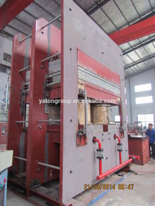 Plate Vulcanizing Press 1500T pictures & photos