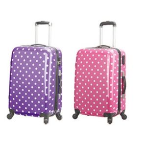 PC Luggage Set with DOT Printing (HTAP-062) pictures & photos