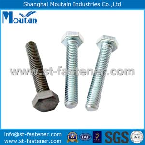 Carbon Steel Hex Head Bolts with DIN558-4.8