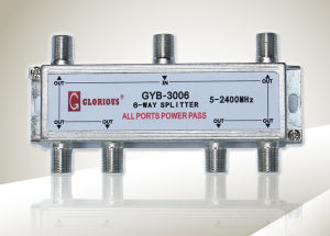 6-Way CATV Splitter (GYB-1006)