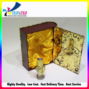 Handmade Golden Stamping Paper Cardboard Perfume Gift Box pictures & photos