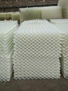 Tube The Hexagonal Honeycomb Slope Tube Type PP Media pictures & photos