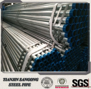 BS1139 Ms Scaffold Galvanized Steel Tube with Cap pictures & photos