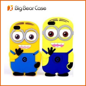 3D Minions Silicone Case for iPhone 5 5s