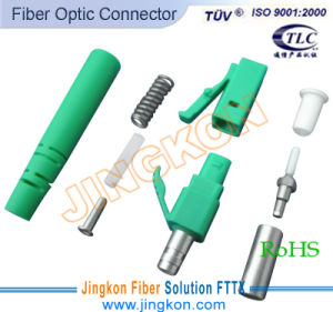 Fiber on Fiber Optic Connector  Lc Apc Sx 3 0    China Lc Fiber Optic Connector