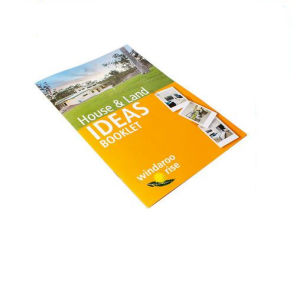 Cheap Staple Binding Booklet Printing (jhy-796)
