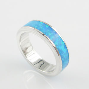 5.5mm Round Band Copper Brasss Men′s Ring