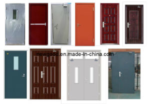 Alarm System Fire Door, Alarm Fire Rated Door, Alarm Fire Proof Door pictures & photos