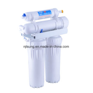 4 Stage Reverse Osmosis Water Purifier Water Filter Without Pump pictures & photos