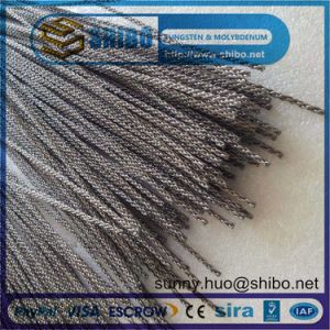 High Purity Twisted Tungsten Wire, Tungsten Filament Rope pictures & photos