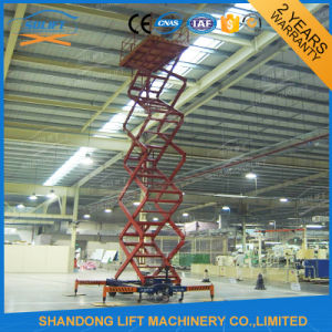 Indoor Hydraulic Scissor Lift Ladder pictures & photos