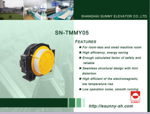 Traction Machine for Elevator (SN-TMMY05) pictures & photos