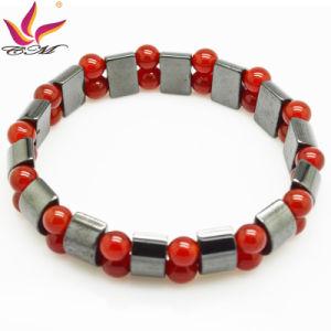 Htb090 Fashion Bracelet High Quality Handmade Hematite Bead Jewelry pictures & photos