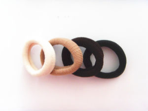 Cutie Towel Rubber Ponytail Holders Hair Tie Elastic Hair Band pictures & photos
