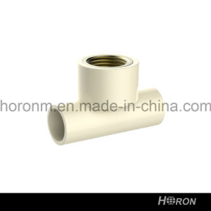 CPVC D2846 Water Pipe Fitting (FAMALE TEE) pictures & photos