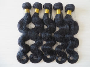 6A Hot Selling Peruvian Virgin Hair, Natural Color, Cen Be Dyed or Bleach, Pure Remy Human Hair