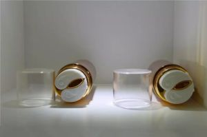 Plastic Acrylic Luxury Cosmetic Packaging Airless Bottle Dual Chamber Qf-065 pictures & photos