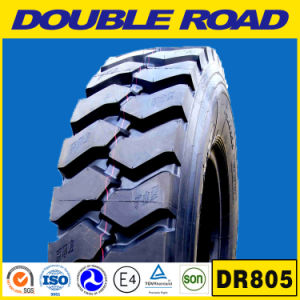 Best Chinese Brand Double Road Truck Tire 285/75r24.5 285 75 24.5 Four Line Rib Pattern Truck Tire 1100r20 pictures & photos