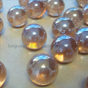 20mm Iridized Glass Marble, Pink (SGM20PK)